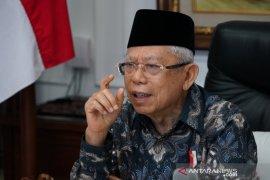 Wapres Ma'ruf Amin: Agama lebih manjur ciptakan perdamaian daripada militer
