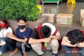 Polisi temukan pelajar SD ikut demo tolak UU Cipta Kerja