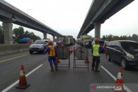 Lajur Tol Jakarta-Cikampek KM 41 dibuat skema buka tutup