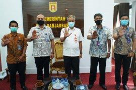 Sekdako Banjarbaru terima kunjungan Kepala BNN Kalsel