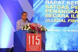 Menteri Edhy jelaskan  Satgas 115 beroperasi di wilayah rawan pencurian ikan