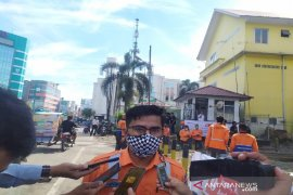 Manajemen KAI Sumut kampanye 3M bantu kendalikan COVID-19