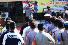 1.500 Personel kawal pengamanan demontrasi tolak Omnibus Law di Banjarmasin