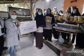 Jamkrindo berikan bantuan alat produksi bagi warga wilayah Geopark Ciletuh