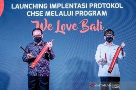 """Menparekraf Wishnutama resmi luncurkan program  """"We Love Bali"""""""