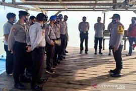 Polisi Bangka Selatan gelar patroli laut Sukadamai