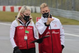 Grand Prix Abu Dhabi kesempatan terakhir debut latihan Schumacher di F1