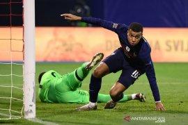 Liga Nasional UEFA, gol Mbappe pastikan Prancis menang 2-1 atas Kroasia