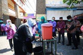 PKK Kota Kediri gencarkan kampanye cuci tangan cegah penyebaran COVID-19