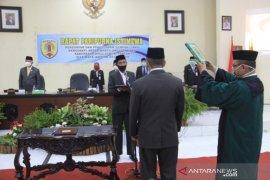 Bupati hadiri Paripurna PAW Anggota DPRD HST Pujiansyah Nor