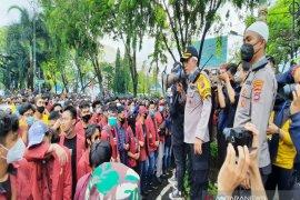 Kapolresta  ingatkan mahasiswa jangan sampai disusupi