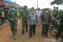 Tim Wasev Mabes TNI AD evaluasi pelaksanaan TMMD di HSU
