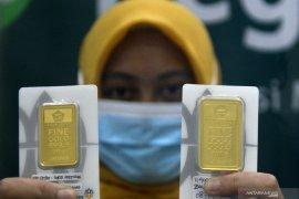 Emas menguat lagi, setelah ada rencana stimulus AS yang lebih besar