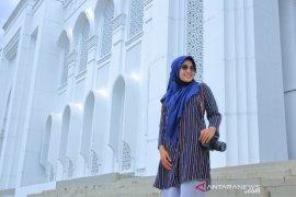 Masjid Giok Nagan Raya mulai dikunjungi wisatawan lokal