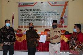 KPU tetapkan DPT Pilkada Tapsel 206.480 jiwa