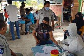 Jasa Raharja Banten gelar rapid test gratis untuk nelayan