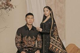 Nikita Willy dan Indra Priawan resmi menjadi suami-istri