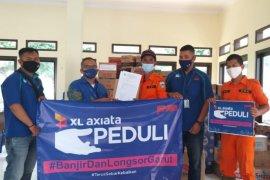 Longsor dan banjir di Tasikmalaya dan Garut, XL Axiata salurkan bantuan dan pastikan jaringan normal
