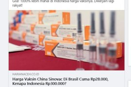 Kasus COVID-19 di Brazil capai 5,4 juta