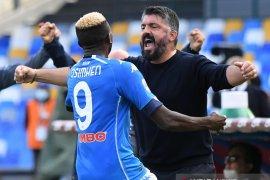 Liga Italia: Napoli tampil gemilang di babak pertama untuk menang 4-1 atas Atalanta