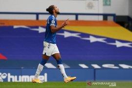 Imbang atas Liverpool, Calvert-Lewin puas jaga tren nirkalah Everton