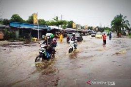 Beberapa bagian wilayah Sampit dilanda banjir