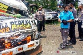 Polisi: Pengemudi truk maut di Puncak Bogor tak punya SIM