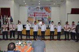 KPU kota Sibolga gelar deklarasi kampanye damai