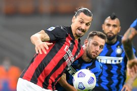 Liga Italia: AC Milan sendirian di puncak setelah hantam Inter