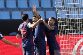 Suarez girang cetak gol  dan bantu Atletico menang lagi