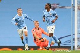 Liga Inggris - Raheem  Sterling jadi pembeda Manchester City atas Arsenal