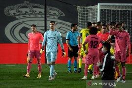 Courtois: Kalah lawan Cadiz alarm Real Madrid agar bebenah