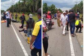Dua motor tabrakan di Padang Tualang Langkat, tiga meninggal dunia
