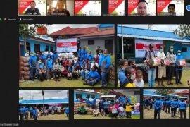 SKK Migas dan DPR RI Beri JPS Penangulangan Covid-19 di Wamena