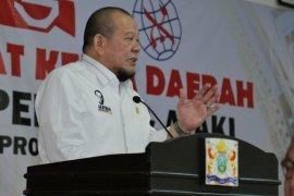 Hadiri Raker Gapeknas, Ketua DPD soroti kasus kegagalan konstruksi bangunan