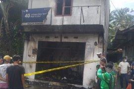 Satu ruko terbakar di Pematangsiantar, dua tewas