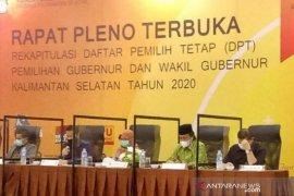 KPU sahkan DPT untuk Pilgub 2020 sebanyak 2.793.811