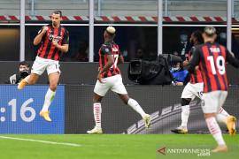 Liga Italia: AC Milan menangi Derby della Madonina untuk puncaki klasemen