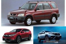 Honda rayakan 25 tahun eksistensi CR-V hingga varian LX  dan hybrid
