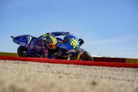 Duet Suzuki Joan Mir dan Alex Rins tebar ancaman bagi tim lain di GP di Aragon