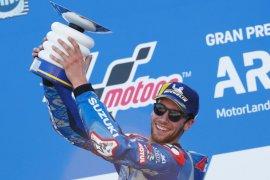 MotoGP, Rins akui kemenangan di Aragon tak semudah di Austin dan Silverstone