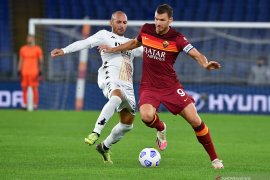 Liga Italia - AS Roma kerja keras untuk raih kemenangan 5-2 atas Benevento