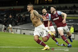 Liga Inggris - Sempat unggul tiga gol, Tottenham akhirnya harus terima hasil imban 3-3 lawan West Ham