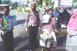 Polres Tanjungbalai tegur 30 pelanggar prokes COVID-19