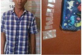 Polsek Stabat ringkus bandar sabu warga Kecamatan Wampu
