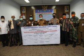 Deklarasi damai, Wali Kota Serang Syafrudin  minta pelajar tidak ikut-ikutan demo