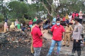 Polisi Garut selidiki penyebab kebakaran pemukiman rumah warga