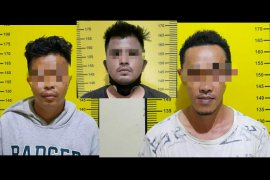 Polres Tabalong tangkap tiga tersangka narkotika