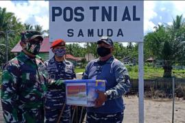 Komandan Pos TNI AL, dukung penuh TNI AD laksanakan program TMMD