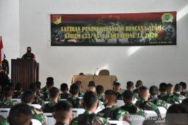 Korem 133/NW gelar pelatihan antisipasi banjir bandang Gorontalo